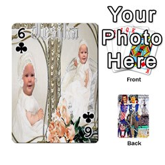 Ashleigh & Raul Quiroz Family s Cards By Pamela Sue Goforth   Playing Cards 54 Designs   Xe0yknn84jma   Www Artscow Com Front - Club6