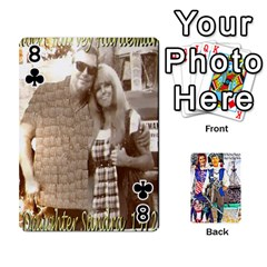 Ashleigh & Raul Quiroz Family s Cards By Pamela Sue Goforth   Playing Cards 54 Designs   Xe0yknn84jma   Www Artscow Com Front - Club8