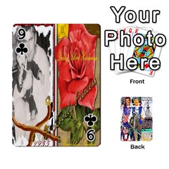 Ashleigh & Raul Quiroz Family s Cards By Pamela Sue Goforth   Playing Cards 54 Designs   Xe0yknn84jma   Www Artscow Com Front - Club9