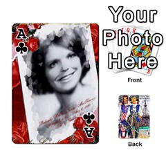 Ace Ashleigh & Raul Quiroz Family s Cards By Pamela Sue Goforth   Playing Cards 54 Designs   Xe0yknn84jma   Www Artscow Com Front - ClubA