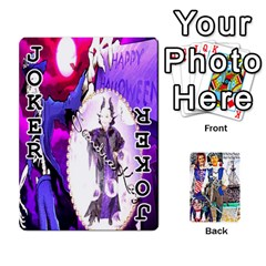 Ashleigh & Raul Quiroz Family s Cards By Pamela Sue Goforth   Playing Cards 54 Designs   Xe0yknn84jma   Www Artscow Com Front - Joker1