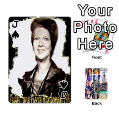 Jack Ashleigh & Raul Quiroz Family s Cards By Pamela Sue Goforth   Playing Cards 54 Designs   Xe0yknn84jma   Www Artscow Com Front - SpadeJ