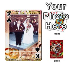 King Stephen & Chase, Kiai , Hailly & Dianne Mckee Family s Cards By Pamela Sue Goforth   Playing Cards 54 Designs   Nfb9e3rbb6kv   Www Artscow Com Front - SpadeK
