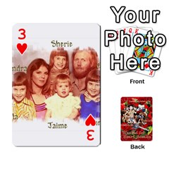 Stephen & Chase, Kiai , Hailly & Dianne Mckee Family s Cards By Pamela Sue Goforth   Playing Cards 54 Designs   Nfb9e3rbb6kv   Www Artscow Com Front - Heart3