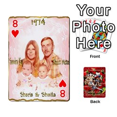 Stephen & Chase, Kiai , Hailly & Dianne Mckee Family s Cards By Pamela Sue Goforth   Playing Cards 54 Designs   Nfb9e3rbb6kv   Www Artscow Com Front - Heart8