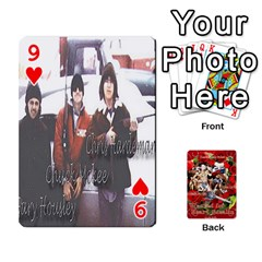 Stephen & Chase, Kiai , Hailly & Dianne Mckee Family s Cards By Pamela Sue Goforth   Playing Cards 54 Designs   Nfb9e3rbb6kv   Www Artscow Com Front - Heart9