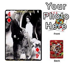 Stephen & Chase, Kiai , Hailly & Dianne Mckee Family s Cards By Pamela Sue Goforth   Playing Cards 54 Designs   Nfb9e3rbb6kv   Www Artscow Com Front - Diamond4