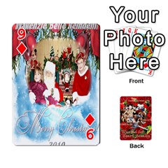 Stephen & Chase, Kiai , Hailly & Dianne Mckee Family s Cards By Pamela Sue Goforth   Playing Cards 54 Designs   Nfb9e3rbb6kv   Www Artscow Com Front - Diamond9