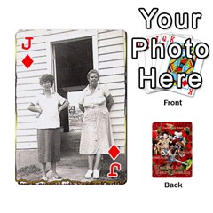 Jack Stephen & Chase, Kiai , Hailly & Dianne Mckee Family s Cards By Pamela Sue Goforth   Playing Cards 54 Designs   Nfb9e3rbb6kv   Www Artscow Com Front - DiamondJ