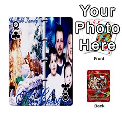 Queen Stephen & Chase, Kiai , Hailly & Dianne Mckee Family s Cards By Pamela Sue Goforth   Playing Cards 54 Designs   Nfb9e3rbb6kv   Www Artscow Com Front - ClubQ