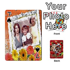 Stephen & Chase, Kiai , Hailly & Dianne Mckee Family s Cards By Pamela Sue Goforth   Playing Cards 54 Designs   Nfb9e3rbb6kv   Www Artscow Com Front - Spade7
