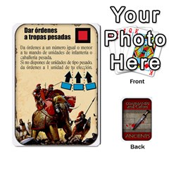 Queen Command And Colors Espa?ol Brackder  Faltan 6  By Doom18   Playing Cards 54 Designs   L3pg4qxymrln   Www Artscow Com Front - DiamondQ