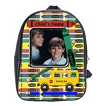 Crayon School Backpack Large - School Bag (Large)