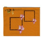 orange cosmetic bag XL - Cosmetic Bag (XL)