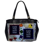 Ladybug one sided - Oversize Office Handbag (One Side)