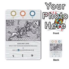 New World Colony By Todd Sanders   Multi Purpose Cards (rectangle)   Djfvei0qgd45   Www Artscow Com Front 3