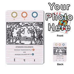 New World Colony By Todd Sanders   Multi Purpose Cards (rectangle)   Djfvei0qgd45   Www Artscow Com Front 32