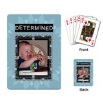 Determined Playing Cards - Playing Cards Single Design