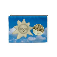 Sun & Moon Medium Cosmetic Bag By Catvinnat   Cosmetic Bag (medium)   Ulx8ogsa53cn   Www Artscow Com Front