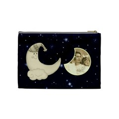 Sun & Moon Medium Cosmetic Bag By Catvinnat   Cosmetic Bag (medium)   Ulx8ogsa53cn   Www Artscow Com Back
