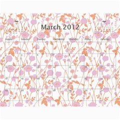 Mama 11 12 By Casey Hastings   Wall Calendar 11  X 8 5  (12 Months)   Rcicsjaz4pzy   Www Artscow Com Mar 2012