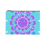 Flower L cosmetic bag - Cosmetic Bag (Large)
