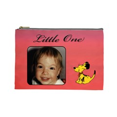 Little One L Cosmetic Bag By Deborah   Cosmetic Bag (large)   Yzmqjpoilwkj   Www Artscow Com Front
