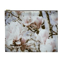 Magnolias In Bloom Xl Case By Teresa Johnson   Cosmetic Bag (xl)   7zmu6wdyvli8   Www Artscow Com Front