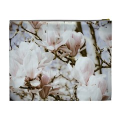 Magnolias In Bloom Xl Case By Teresa Johnson   Cosmetic Bag (xl)   7zmu6wdyvli8   Www Artscow Com Back