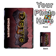 Delve Dice Advanced By Clay Blankenship   Multi Purpose Cards (rectangle)   8e93y1wp1i7j   Www Artscow Com Back 17