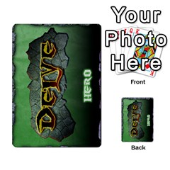 Delve Dice Advanced By Clay Blankenship   Multi Purpose Cards (rectangle)   8e93y1wp1i7j   Www Artscow Com Back 36