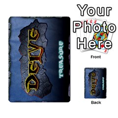 Delve Dice Advanced By Clay Blankenship   Multi Purpose Cards (rectangle)   8e93y1wp1i7j   Www Artscow Com Back 45