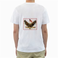 Some Gave All Men s White T Shirt By Debra Macv   Men s T Shirt (white) (two Sided)   M5myfojoxpnq   Www Artscow Com Back