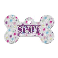 Spot The Dog Puppy Dog Tag By Catvinnat   Dog Tag Bone (two Sides)   8zpb80bluoy3   Www Artscow Com Front
