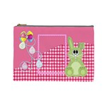 Eggzactly Spring Large Cosmetic Bag 1 - Cosmetic Bag (Large)