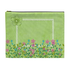 Eggzactly Spring Xl Cosmetic Bag 1 By Lisa Minor   Cosmetic Bag (xl)   D6cz9aa9xm2e   Www Artscow Com Front