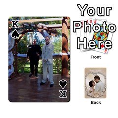 King Kris And Kami s Wedding By Snackpackgu   Playing Cards 54 Designs   S7m25gbk2hns   Www Artscow Com Front - SpadeK