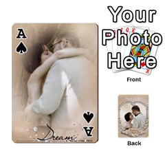 Ace Kris And Kami s Wedding By Snackpackgu   Playing Cards 54 Designs   S7m25gbk2hns   Www Artscow Com Front - SpadeA
