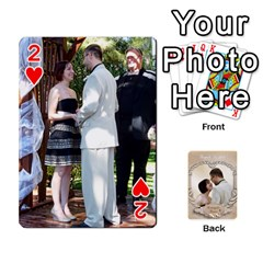 Kris And Kami s Wedding By Snackpackgu   Playing Cards 54 Designs   S7m25gbk2hns   Www Artscow Com Front - Heart2
