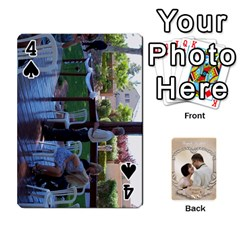 Kris And Kami s Wedding By Snackpackgu   Playing Cards 54 Designs   S7m25gbk2hns   Www Artscow Com Front - Spade4