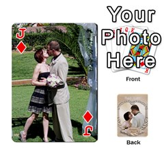 Jack Kris And Kami s Wedding By Snackpackgu   Playing Cards 54 Designs   S7m25gbk2hns   Www Artscow Com Front - DiamondJ