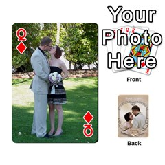 Queen Kris And Kami s Wedding By Snackpackgu   Playing Cards 54 Designs   S7m25gbk2hns   Www Artscow Com Front - DiamondQ