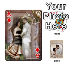 Ace Kris And Kami s Wedding By Snackpackgu   Playing Cards 54 Designs   S7m25gbk2hns   Www Artscow Com Front - DiamondA
