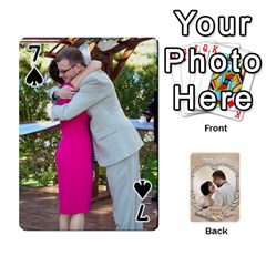 Kris And Kami s Wedding By Snackpackgu   Playing Cards 54 Designs   S7m25gbk2hns   Www Artscow Com Front - Spade7