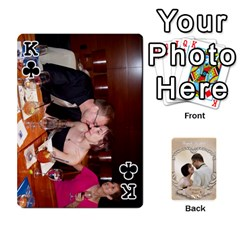 King Kris And Kami s Wedding By Snackpackgu   Playing Cards 54 Designs   S7m25gbk2hns   Www Artscow Com Front - ClubK