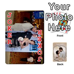 Kris And Kami s Wedding By Snackpackgu   Playing Cards 54 Designs   S7m25gbk2hns   Www Artscow Com Front - Joker2
