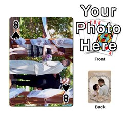 Kris And Kami s Wedding By Snackpackgu   Playing Cards 54 Designs   S7m25gbk2hns   Www Artscow Com Front - Spade8