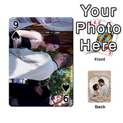 Kris And Kami s Wedding By Snackpackgu   Playing Cards 54 Designs   S7m25gbk2hns   Www Artscow Com Front - Spade9