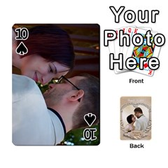 Kris And Kami s Wedding By Snackpackgu   Playing Cards 54 Designs   S7m25gbk2hns   Www Artscow Com Front - Spade10