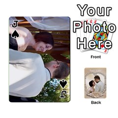 Jack Kris And Kami s Wedding By Snackpackgu   Playing Cards 54 Designs   S7m25gbk2hns   Www Artscow Com Front - SpadeJ